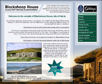 Blacksheephouse self catering accommodation