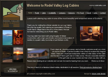 Rodel Valley Log Cabins