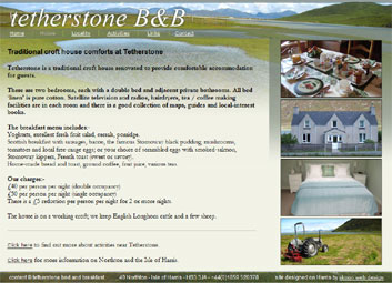 Isle of Harris Bed and Breakfast